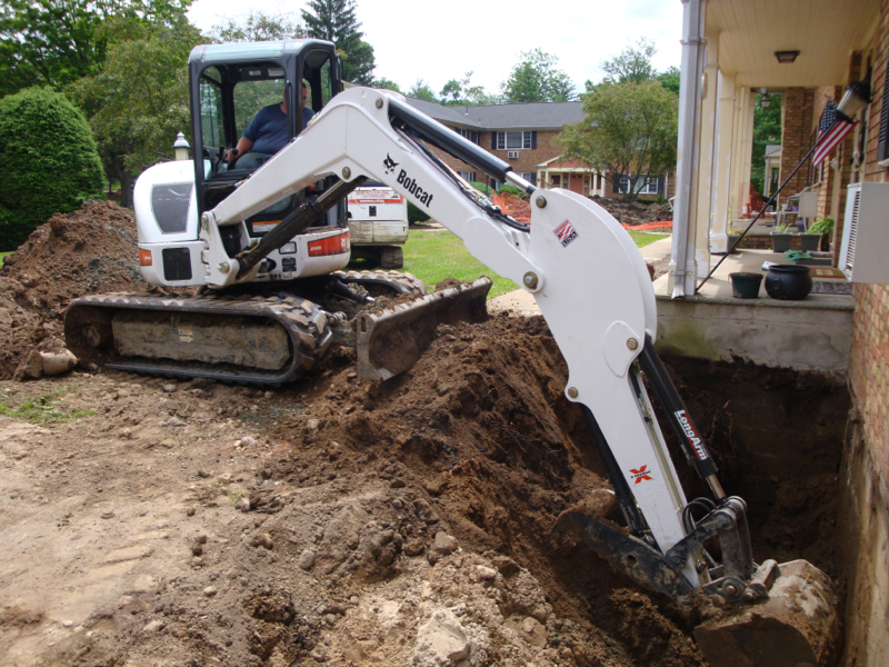 Bobcats For Hire Excavating Service Nj