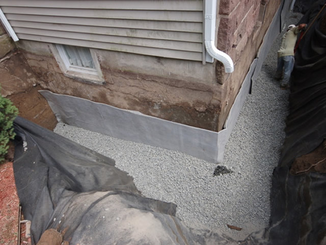 Exterior basement waterproofing engineer on staff Exterior basement waterproofing